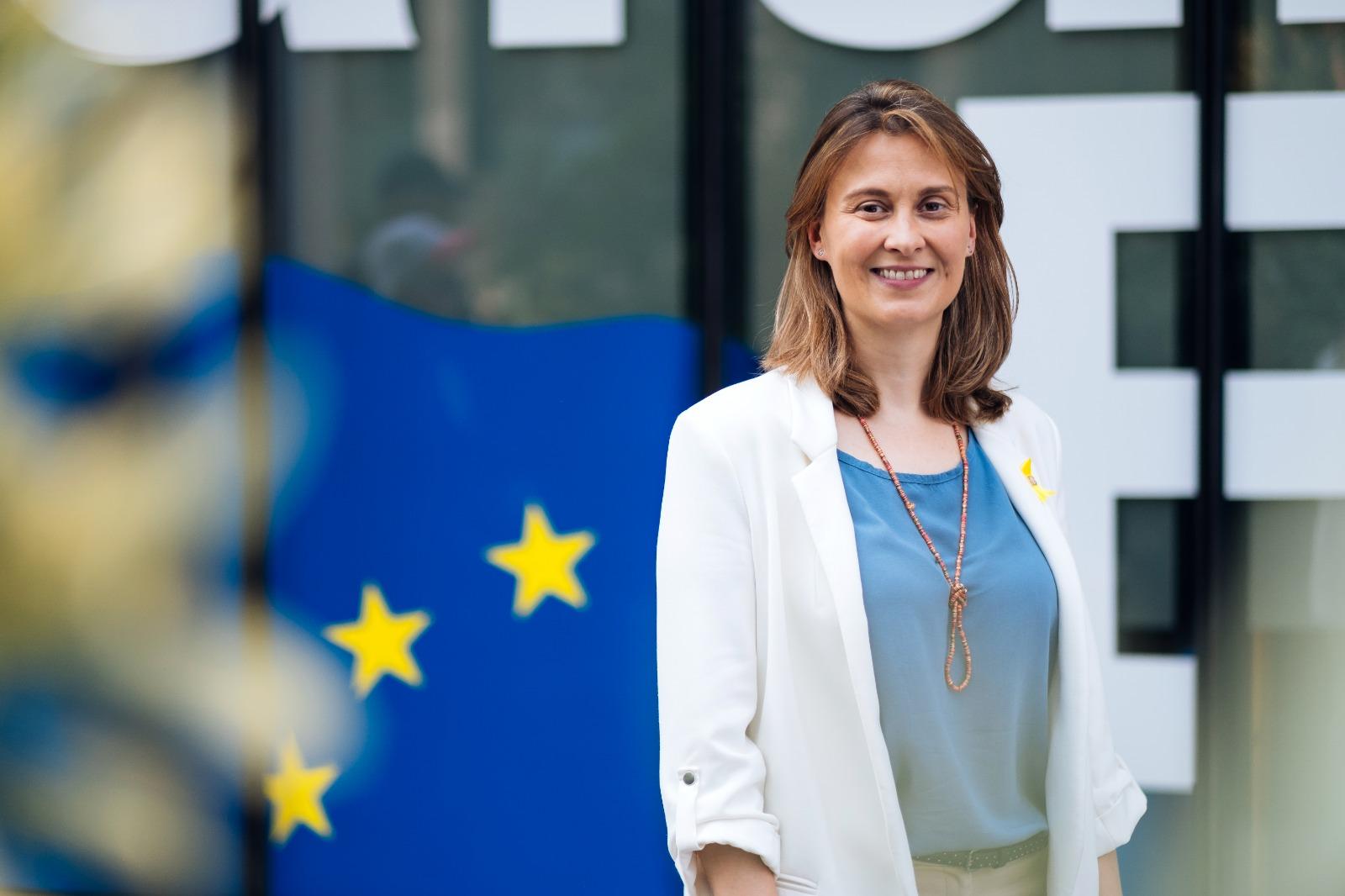 Meritxell Serret, diputada al Parlament de Catalunya