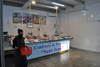Creació d'una peixateria per a la promoció de peix local de la Confraria de Pescadors Sant Joan de Deltebre.
