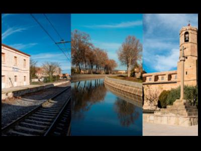 Fotografies de diversos paisatges de la Vall del Sió