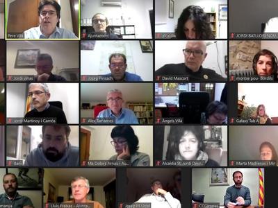 Reunió amb els alcaldes i alcaldesses del Gironès per promoure el CIRE