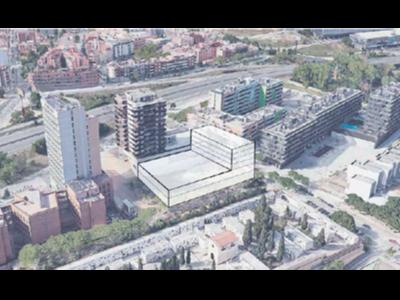 Simulació del nou hospital.