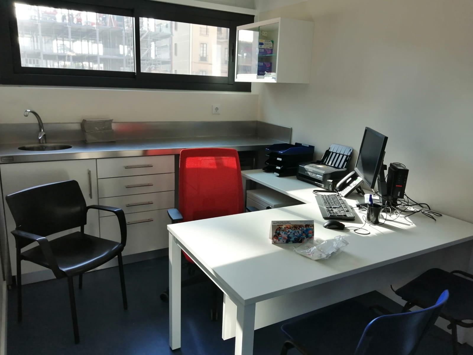Imatge de l'interior d'una consulta