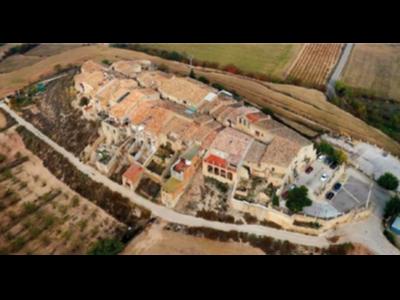Vista àeria del nucli clos de Mas Bondia