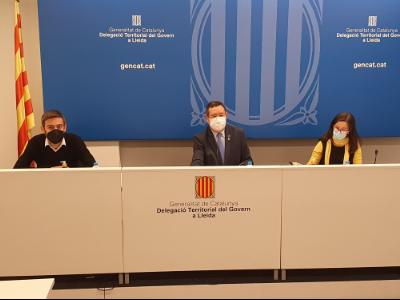 Presentació Pla de treball de la campanya agrària de Lleida 2021