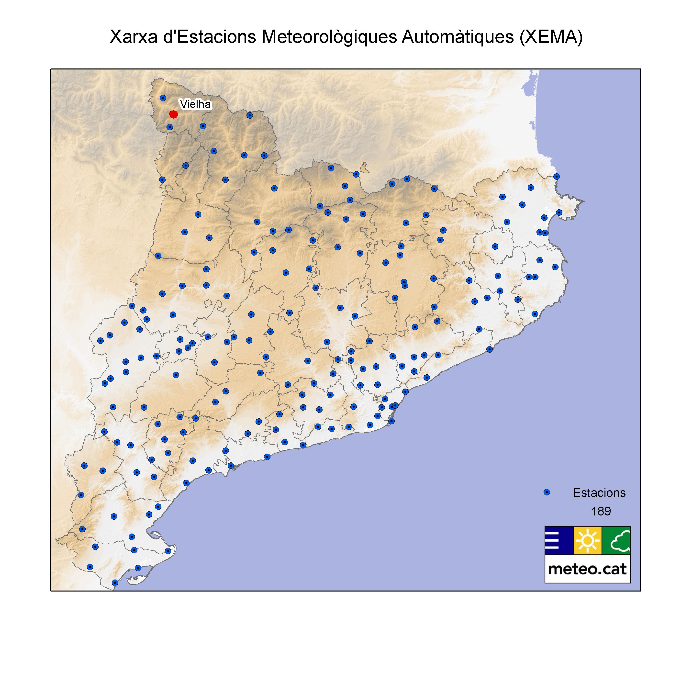 Mapa EMAs
