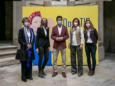 Presentació de la setena convocatòria dels Premis DonaTIC del 2021