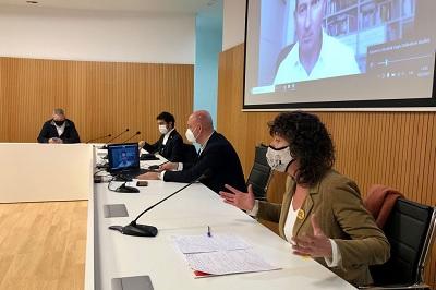 Fotografia de la reunió de la Taula de Consens del mes de febrer