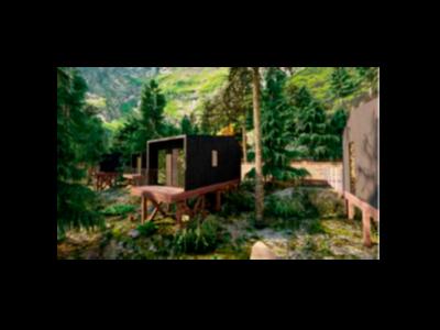 Simulació d'un dels nous bungalous