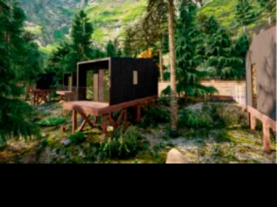 Simulació dels nous bungalous