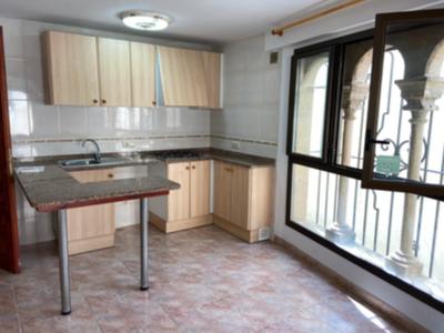 Interior d'un dels pisos del carrer del Carme de Lloret de Mar.