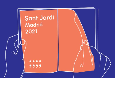 Sant Jordi 2021 a Madrid