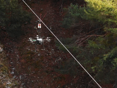 Treballs amb dron