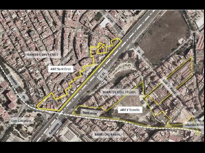 Àrea residencial estratègica (ARE) de Sant Crist, a Badalona