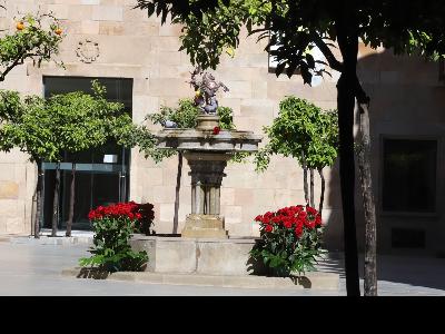 Celebració de Sant Jordi al Palau