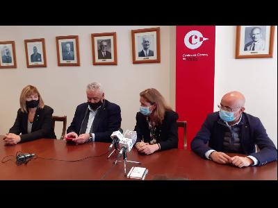 Trobada amb representants de la Cambra de Comerç de Valls