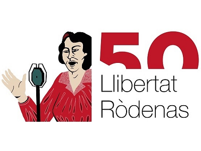 Logotip any Llibertat Ròdenas