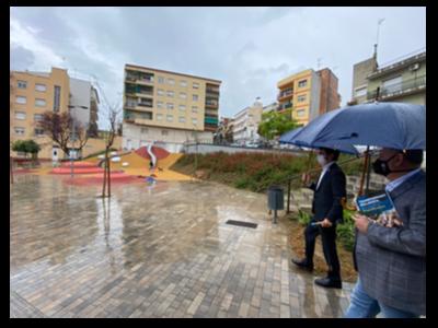 Una nova zona d'esbarjo al barri de Bellavista.
