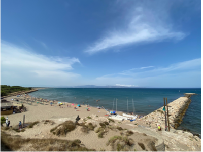 Foto de recurs d'una platja