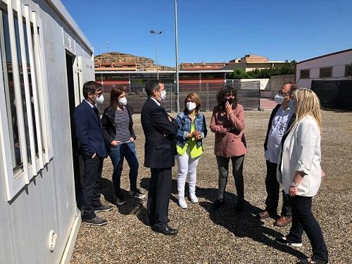 Teresa Jordà amb els alcaldes i alcadesses del Segrià