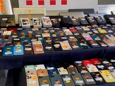 Foto comís de 300 aparells a l'Hospitalet de Llobregat