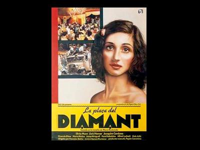 Cartell de la Plaça del Diamant