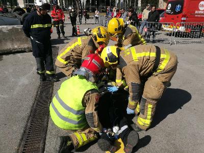 Imatge de l'edició del Concurs en Accidents de Trànsit el 2019, a Barcelona