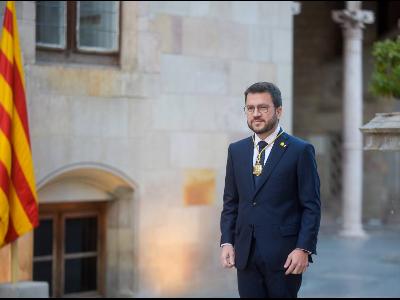 El president Aragonès