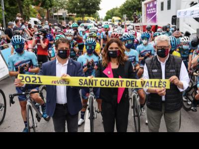 Consellera Vilagrà Volta Ciclista Femenina