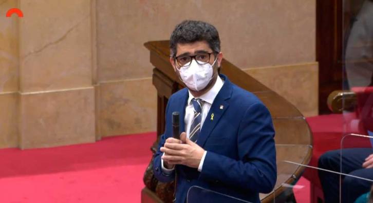 Vicepresident Jordi Puigneró al Parlament
