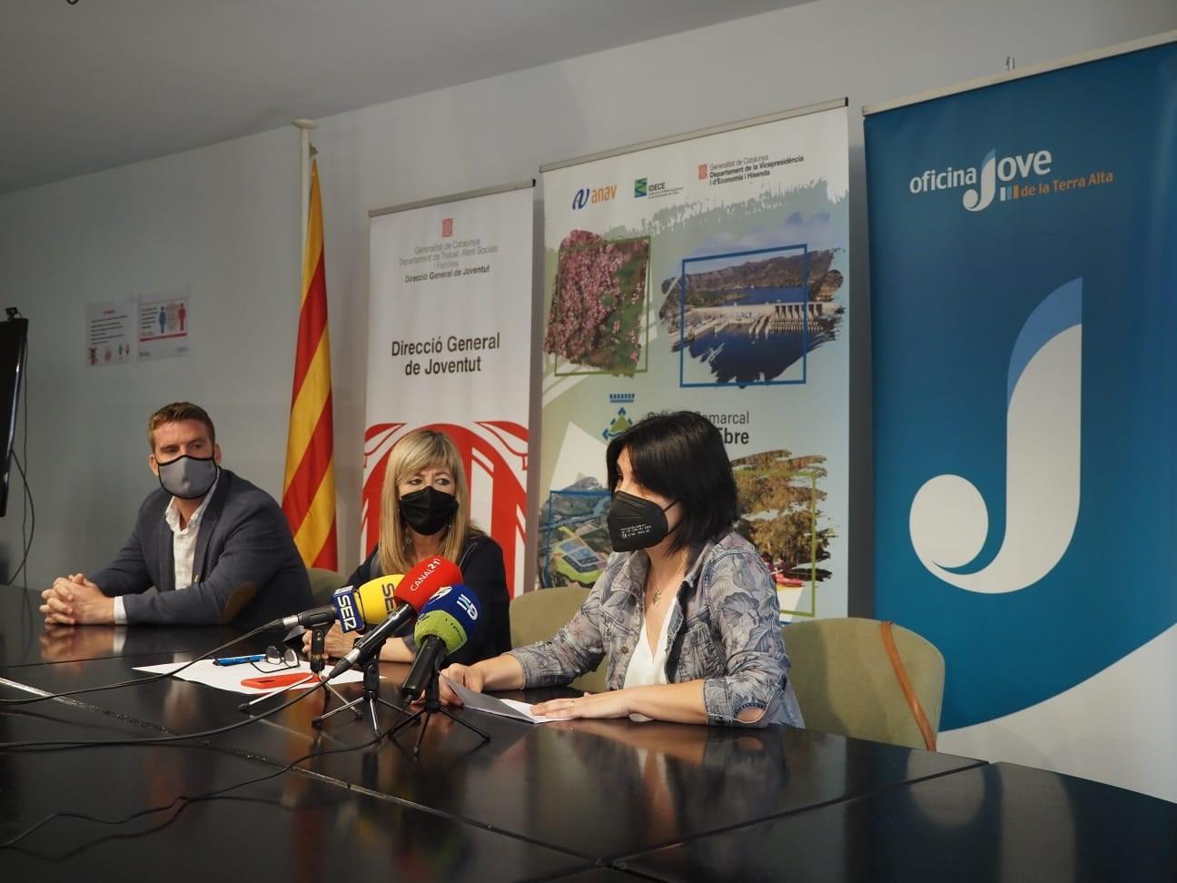 Joventut presenta els Protocols vers les violències sexuals en espais públics d'oci dels consells comarcal de la Ribera d'Ebre i la Terra Alta
