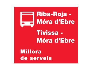 Millora transports Ribera d'Ebre
