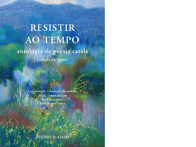 Portada de l'antologia 'Resistir ao Tempo'