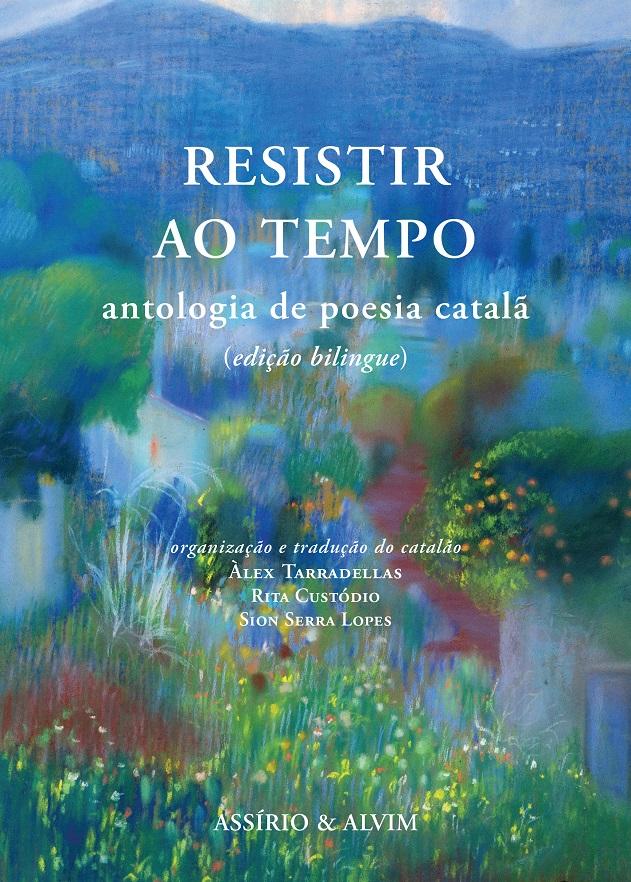 Portada de l'antologia 'Resistir ao tempo