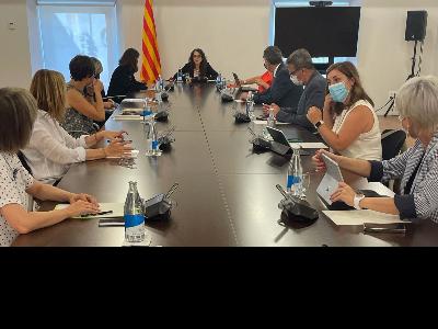Reunió Conselleria IFE i diputacions