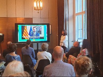 Presentació, a Berlín, de l'estat i novetats de la destinació catalana