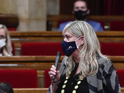Violant Cervera al Parlament