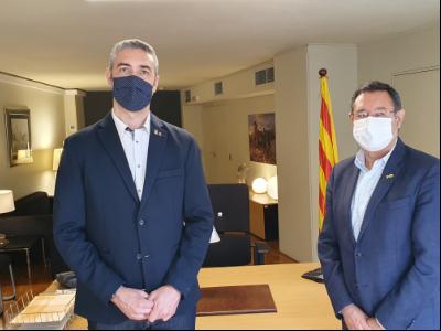Relleu delegat a Lleida (Bernat Solé - Ramon Farré)