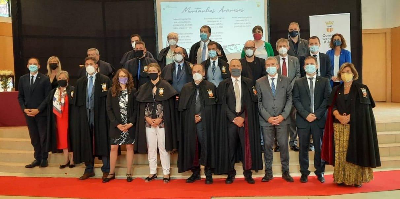 La consellera Tània Verge visita l'Aran en ocasió de la celebració de la Hèsta d'Aran