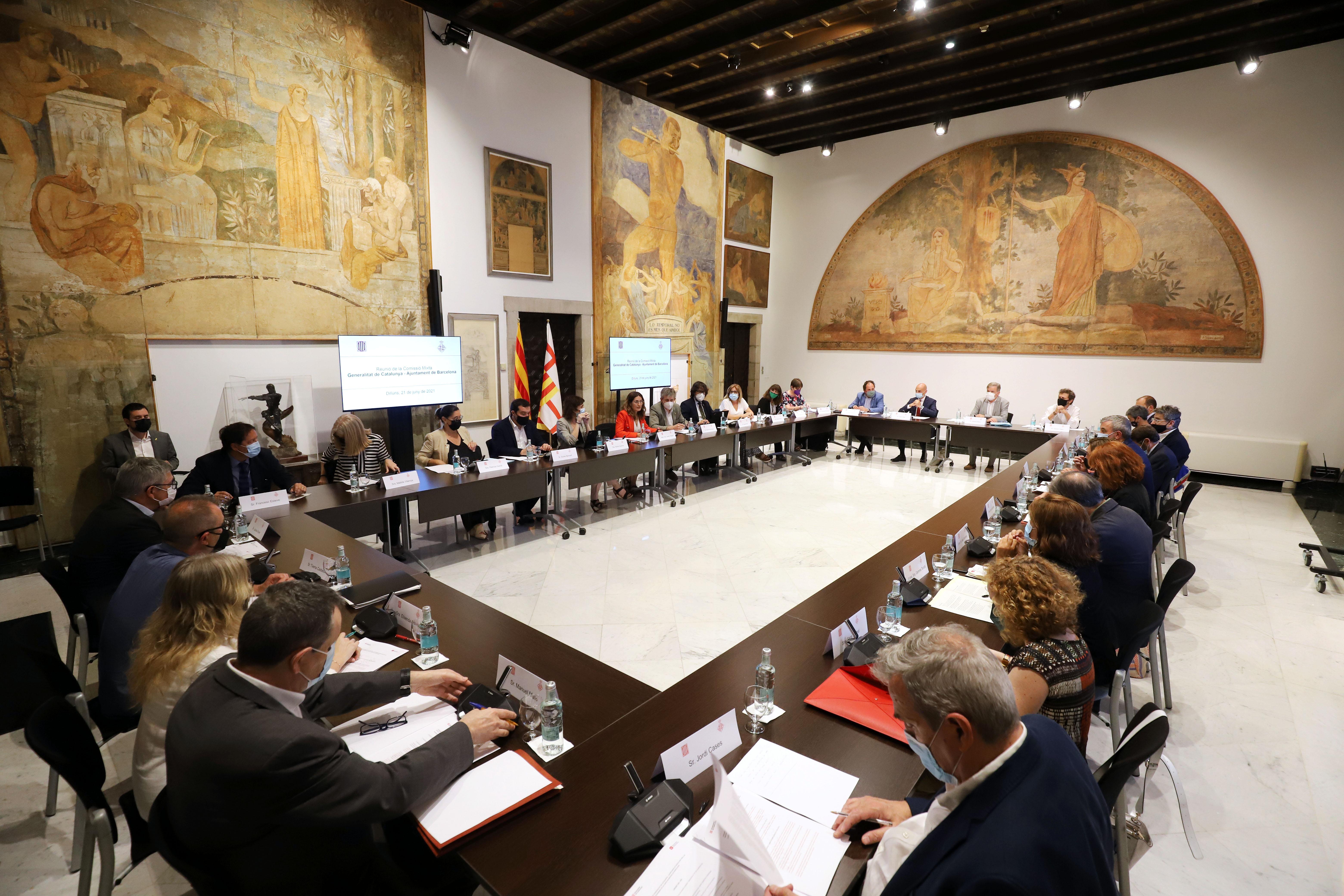 Comissió mixta Generalitat - Ajuntament de Barcelona