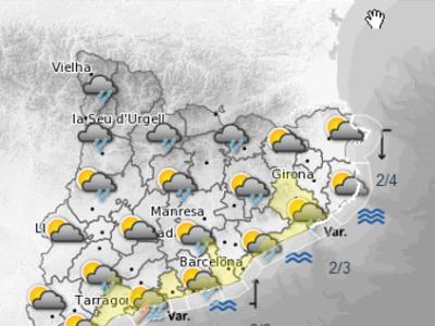 Mapa predicció