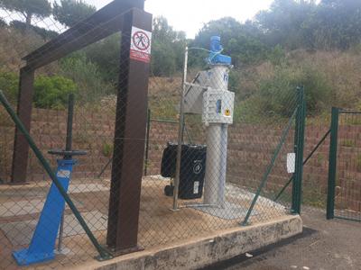 Una de les noves estacions de bombament que s'han construït i que redistribuiran el transport de les aigües residuals.