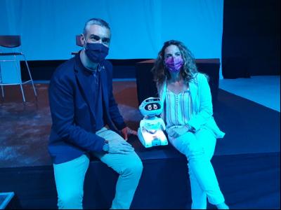 Solé i Barbany durant la inauguració del Mobile Week Lleida