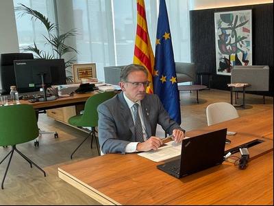 El conseller Giró presideix la reunió del consell rector de l'IDECE