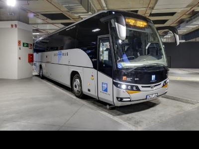 Imatge d'un vehicle de l'Eix Bus