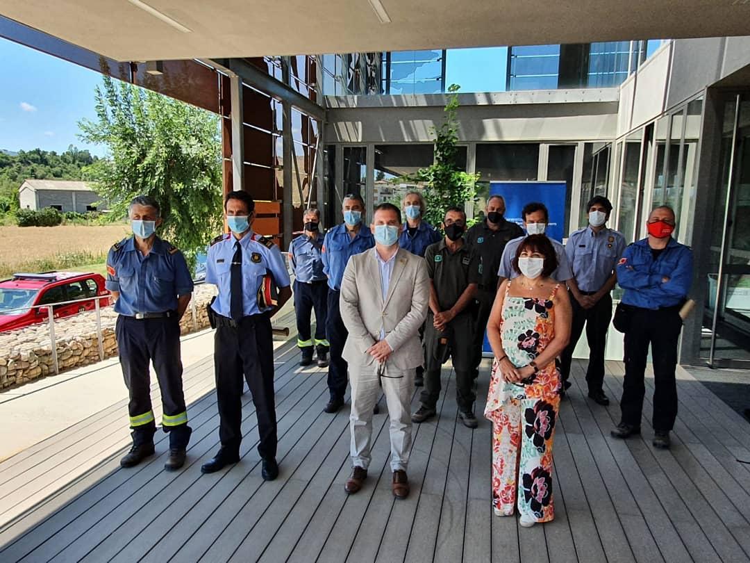 Foto de grup dels participants en la reunió celebrada a Tremp (Pallars Jussà)