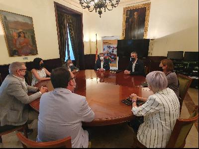 Visita institucional Solé a la Diputació