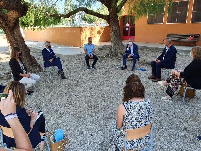 Visita a l'Escola Soriano Montagut