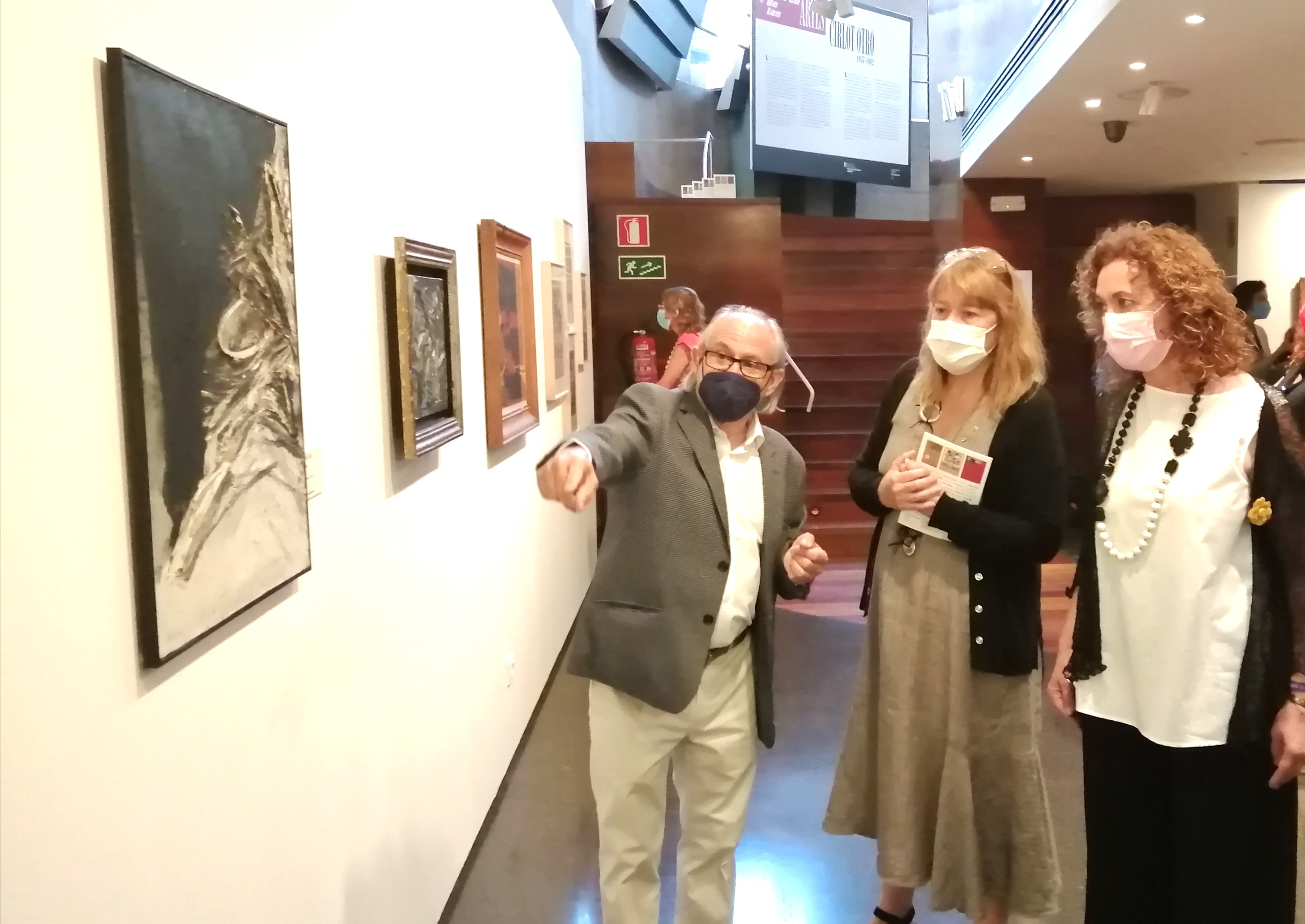 Foto Inauguració exposició CIRLOT OTRO