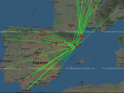 Plànol rutes multimodals CSM