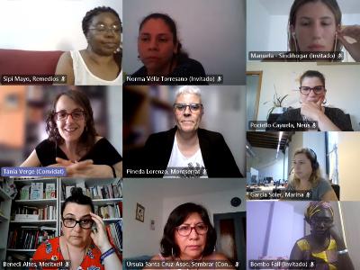 Reunió amb entitats independents dones migrades